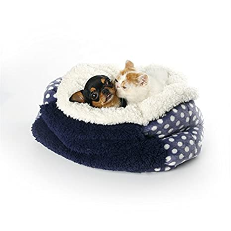 WSS - Saco de dormir multiusos (caliente bolsillo para mascotas Caseta se peloter de carboncillos para arena de gato: Amazon.es: Productos para mascotas