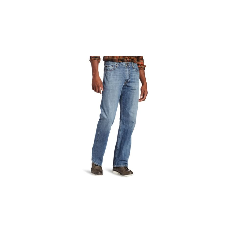 Lucky Brand Mens 181 Relaxed Straight Leg Jean In Light Cardiff