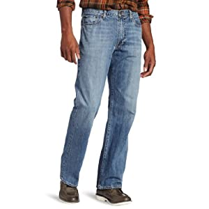 Lucky Brand Men's Big-Tall 181 Relaxed Straight Leg Jean in Light Cardiff