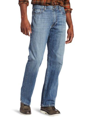 Lucky Brand Men's 181 Relaxed Straight Leg Jean In Light Car