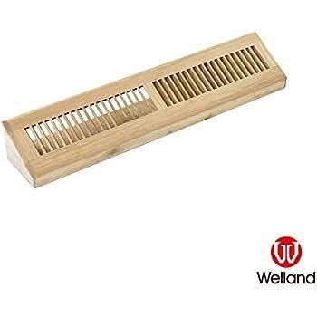 Amazon Com Ellehome Baseboard Diffuser Wood Vent Register