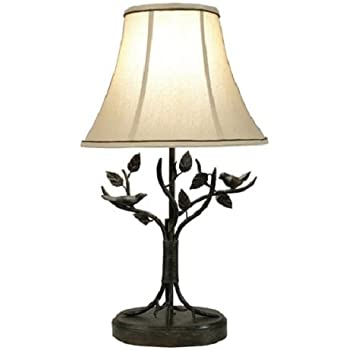 Style Craft BP8168DS Bronze Tree Table Lamp
