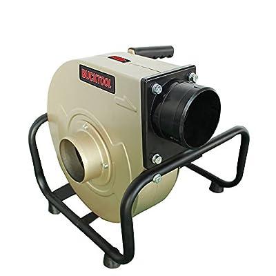Bucktool Industrial Portable Dust Collector 13 Gal. Wall-mountable 1 HP
