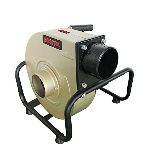 BUCKTOOL Industrial Portable Dust Collector 13 Gal. Wall-mountable 1 (Cyclone Dust Collection Systems)