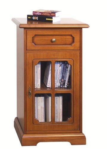 Porta telefono classico con griglia, mobiletto in legno per ...
