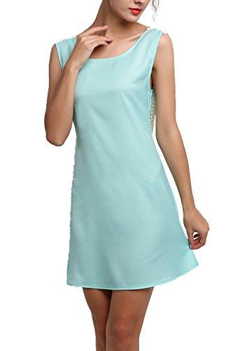 Bluetime - Vestido - Túnica - para mujer Verde