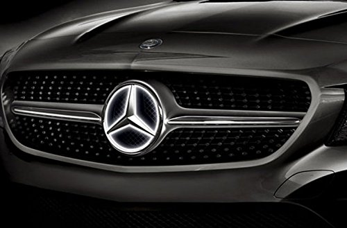 Mercedes benz genuine oem full time illuminated star 2017 for How to buy mercedes benz stock