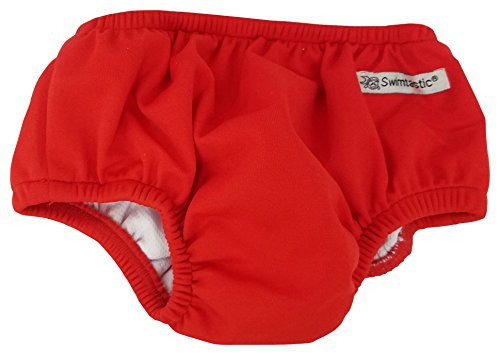 Swimtastic Baby Swim Diapers, Reusable Infant Diaper Trunks,...