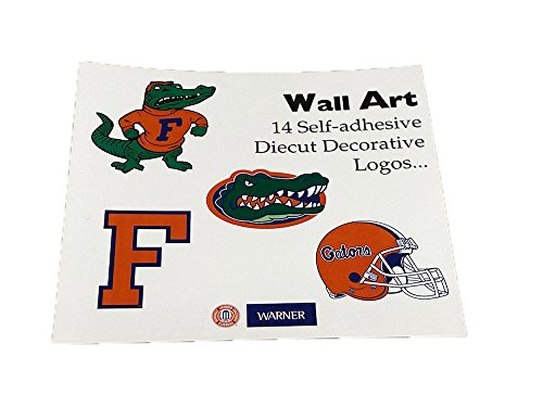 Florida Gators 14 Die Cut Wall Art Logos