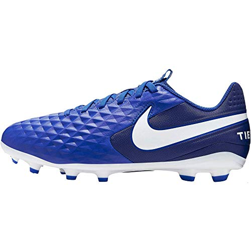 Nike Youth Tiempo Legend VIII Academy MG Multi-Ground Soccer Cleats Royal Blue