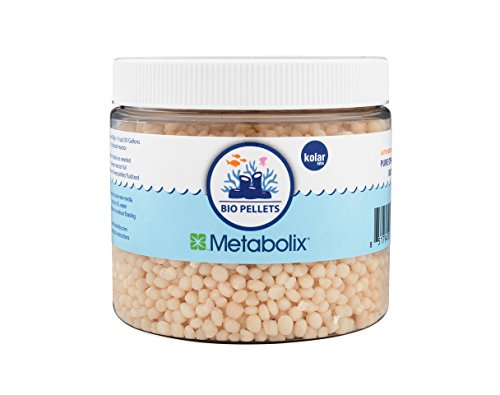 BIO PELLETS METABOLIX DP9002 NITRATE AND PHOSPHATE REMOVER 300g (.66lb, (Fluidized Bed Media)
