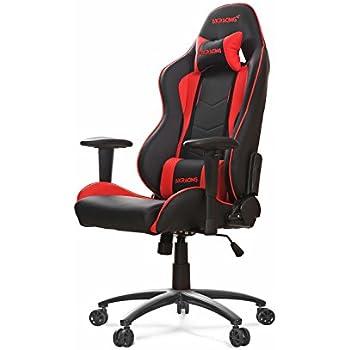 Akracing AK-5015 Nitro Ergonomic Series Racing Style Gaming Office Chair - Black/Red