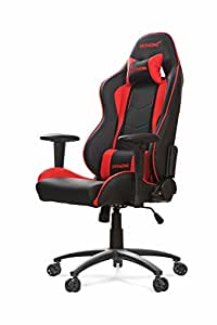 Akracing AK-5015 Nitro Ergonomic Series Racing Style Gaming Office Chair - Black/Red