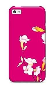 XiFu*MeiHot RRFvIwB23696cmDae Case Cover Protector For Iphone 5c- Creative Sakura Flowers CropXiFu*Mei