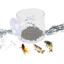 POPETPOP Alimentador de Peces de Acuario, Alimentador de Peces Herramienta de alimentación de Peces de Acuario con Anillo de alimento para Peces lechón