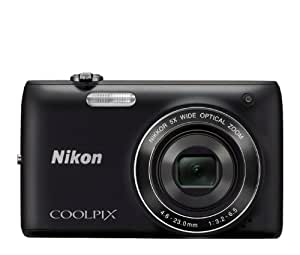 Nikon COOLPIX S4100 14 MP Digital Camera with 5x NIKKOR Wide-Angle Optical Zoom Lens and 3-Inch Touch-Panel LCD (Black)