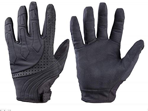 TurtleSkin Bravo Law Enforcement Gloves (Large, Black)
