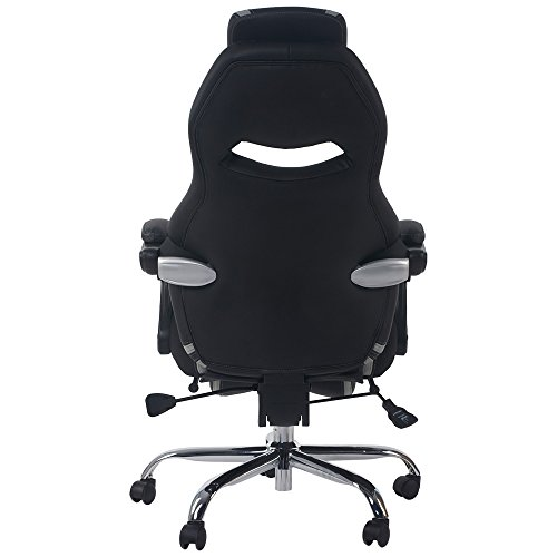Merax Racing Style Executive Pu Leather Swivel Chair With