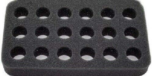 Spool caddy Fly Tying Uni Foam Tray Insert