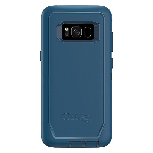 OtterBox DEFENDER SERIES for Samsung Galaxy S8 (SCREEN PROTECTOR NOT INCLUDED) - Frustration Free Packaging - BESPOKE WAY (BLAZER BLUE/STORMY SEAS BLUE)