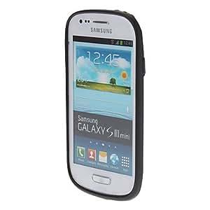 Trasparent Bumper Cover for Samsung Galaxy S3 Mini I8190 , White