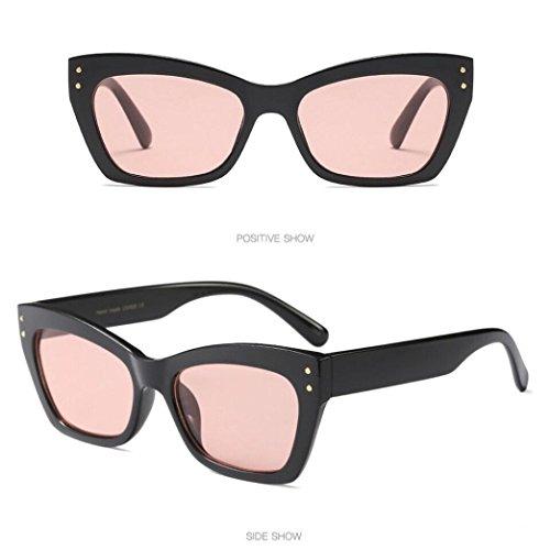 Soleil Été Rawdah Eye B Lunettes Retro Dames Vintage Ovale Sunglasses Mode Femmes De Cat Cadre Uv400 rfwZnxZWBX