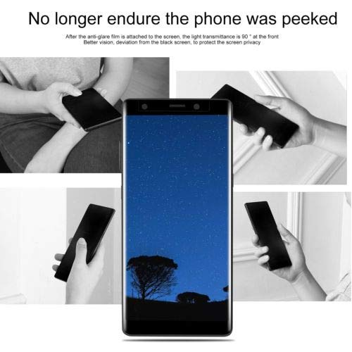 TM LeLeShop for Samsung Galaxy Note 8 100/% Anti-Spy Privacy Tempered Glass Screen Protector