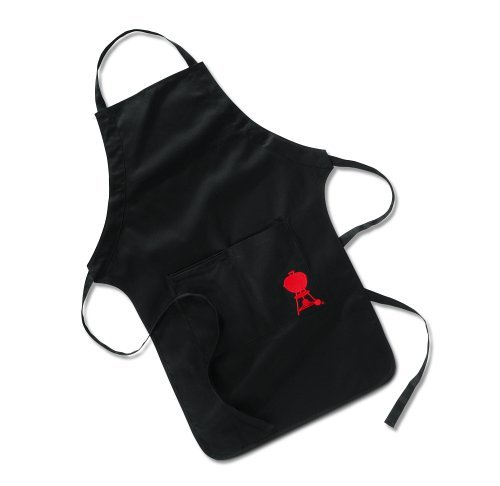 - Weber 6474 Barbecue Apron, Black