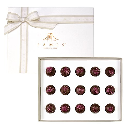 Gourmet Summer Chocolate Gift Box   Assorted Berry Swirl Chocolates   Kosher Pareve