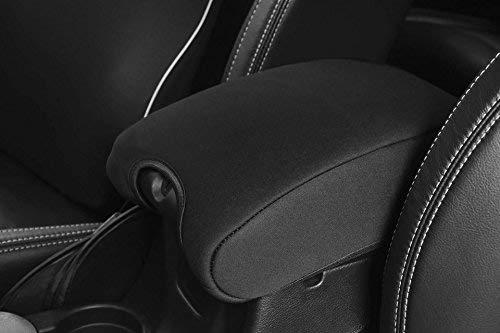 DEDC Neoprene Center Console Armrest Pad Cover for Jeep Wrangler JK Sahara Sport Rubicon X /& Unlimited 2011 2012 2013 2014 2015 2016 2017 Black