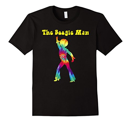 Mens Funny The Boogie Man- Easy Halloween Costume 2017 XL Black