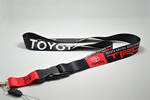 TRD Toyota Racing JDM Supra Lanyard Lexus Phone Holders Neck Strap ID Key Chain