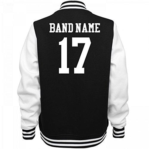 Marching Band Bomber Jacket: Ladies Fleece Letterman Varsity Jacket (Customized Fleece Jackets)