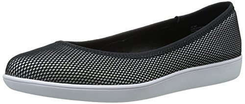 West Black B M Women's Nine M White Ballet Luvintrist EU 8 Fabric 41 UK Flat B Black dFnvq8xn