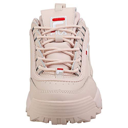 Disruptor Ii fila Da Peach Donna Blush white Premium Scarpa Red Ginnastica Fila Iv5TBqtIw