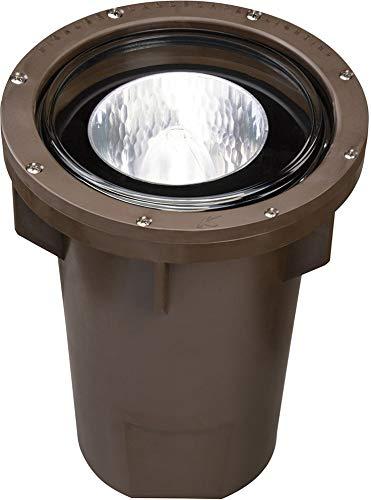 Kichler 15266AZ HID High Intensity Discharge Well Light 120V 70w MH Ballast, Architectural Bronze