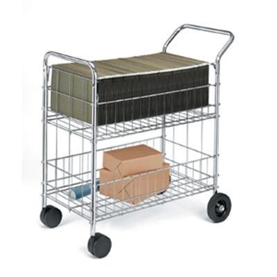 (Fellowes 40912 Mail Cart,Holds 150 Folders,21-1/2