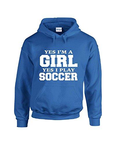 I Play Soccer Sweatshirt - 7