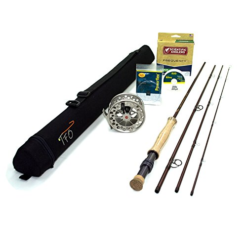 "TFO Mangrove 8wt Fly Rod Outfit (8wt, 9'0"", 4pc) w/Lamson Guru Fly Reel"
