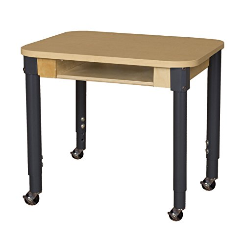 - Wood Designs HPL1824DSKA1829C6 Mobile Classroom High Pressure Laminate Desk with 20