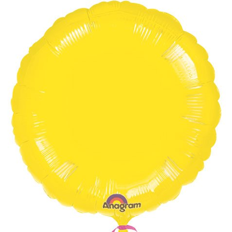 Anagram International Round Foil-Flat-Balloon, 18
