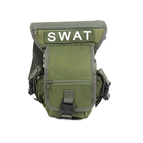 Männer Jungen Mehrzweck Militär Training CS SWAT Wanderung Jagd Taille Trägergürteltasche Grün u6L6HD02s0