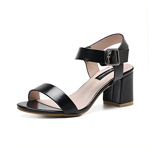 Caviglia Con Donna Nero A Alla Cinturino amp;ndiug00038 x7Tw8Iqz