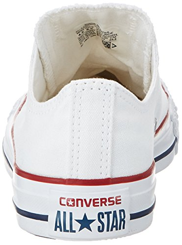 White OX unisex AS M7652 OPTIC CAN Converse Sneaker Optical adulto Bianco HOvqwxC