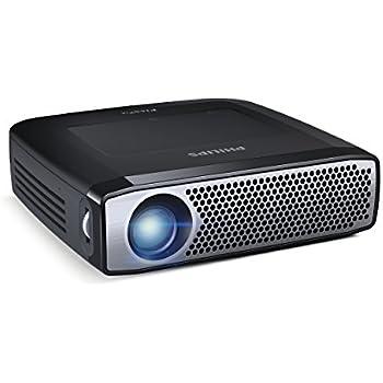 Amazon Com Philips Ppx4935 Pocket Smart Projector 350