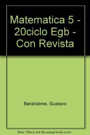 Matematica 5 - 20ciclo Egb - Con Revista (Spanish Edition) ePub fb2 ebook