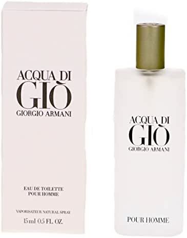 Giorgio Armani Acqua Di Gio For Men Eau De Toilette spray, 0.5 Ounce