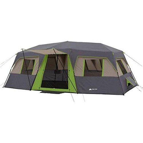 Ozark Trail 20' X 10' Green Instant Cabin Tent, Sleeps 12
