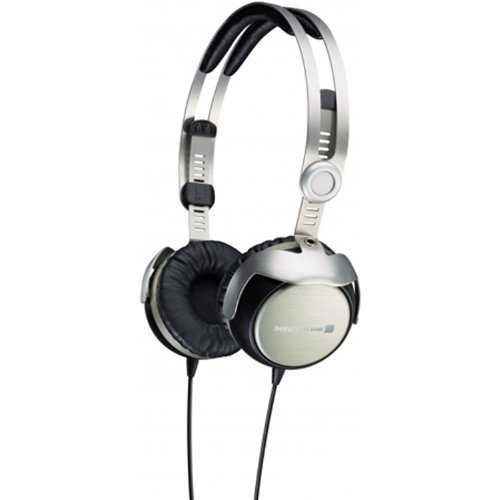 Beyerdynamic T51i On-Ear Headphones with Mic/Remote, Silver/Black, Best Gadgets