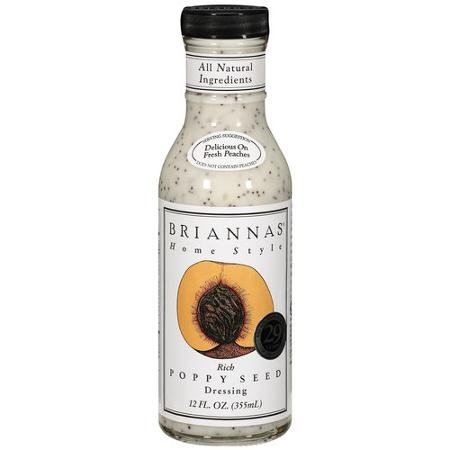 Brianna's Dressing Rich Poppy Seed 12.0 FO (Pack of 2)